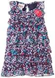 Little Lass Baby-Girls Infant Butterfly Print Chiffon Dress