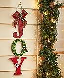 Joy Christmas Door or Wall Hanger Decoration