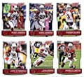 2016 Score Arizona Cardinals Veterans Team Set of 11 Football Cards: Carson Palmer(#1), Chris Johnson(#2), David Johnson(#3), Andre Ellington(#4), John Brown(#5), Larry Fitzgerald(#6), Michael Floyd(#7), Darren Fells(#8), Patrick Peterson(#9), Tyrann Math