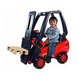 Linde Forklift Kid's Ride on Toy (Color: Red)