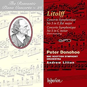 The Romantic Piano Concerto 26: Concertos Symphoniques Nos. 3 & 5