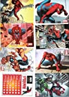 Marvel Heroes Collectible Sticker Lot of 38 Spider-Man