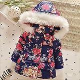 MINEKA 女の子 冬 コート アウター ベンチコート ピンク /ネイビー80~90cm (2T, G.DY.010112/ネイビー)