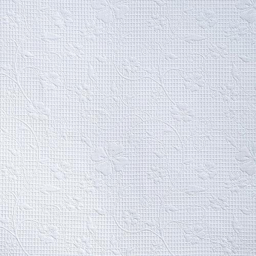 Sancarlos - Colcha piqué floral berenice blanco - esquinas redondeadas - con dibujo ornamental - varias tallas disponibles