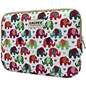 Dachee Colorful Elephant Laptop Sleeve 13 Inch Macbook Air 13 Case Macbook Pro 13 Sleeve And 13.3 Inch Laptop...