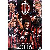 A.C.Milan ACミラン オフィシャル 2016 壁掛け カレンダー
