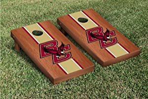 Buy Boston College Eagles Cornhole Game Set Rosewood Stained Version by Gameday Cornhole