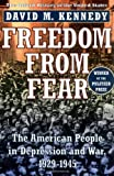 Freedom from Fear: The American People in Depression and War, 1929-1945 (0195144031) by Kennedy, David M.
