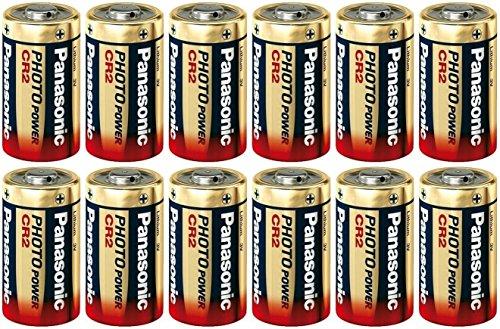 Panasonic Ultra CR2 3v Lithium Photo Battery DL-CR2 12 Pack (Panasonic Cr2 Lithium 3v Battery compare prices)