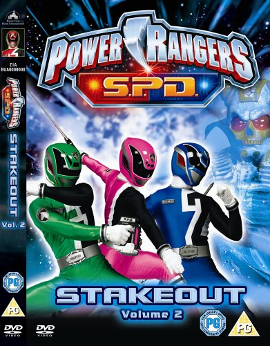 Power Rangers - Space Patrol Delta - Vol.2 Stakeout [DVD]