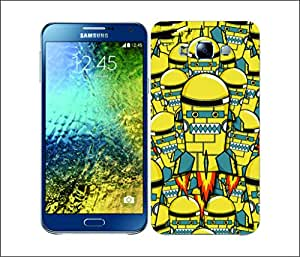 Galaxy Printed 2698 Rocket Monster Rover Hard Cover for Samsung GRAND I9082