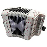 SKY Accordion Star Pattern 7 Button 2 Bass Kid Music Instrument Easy to Play