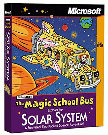 Magic School Bus Explores the Solar System [Old Version]
