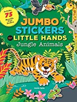 Jumbo Stickers for Little Hands: Jungle Animals