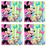 Disney Minnie Mouse Bowtique Party Beverage Napkins - 48 Guests