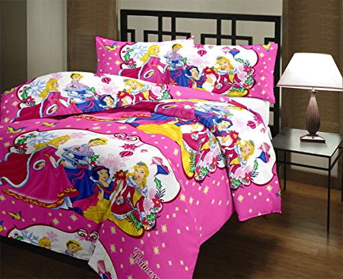 Vasnm Barbie Princess Single AC Reversible Quilt