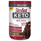Slimfast Keto Meal Replacement Powder Fudge Brownie Batter Canister, 13.4 oz, Pack of 1 (Tamaño: Pack of 1)