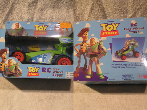 toy story 3 free wheeling rc car toys games. Black Bedroom Furniture Sets. Home Design Ideas