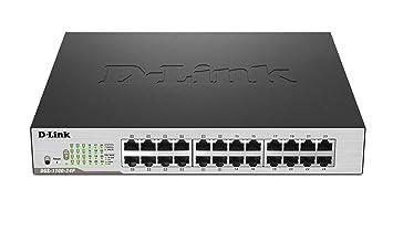 D-Link DGS-1100-24P Commutateur 24 Ports Gris