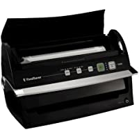 FoodSaver V3250 Vacuum Sealer (Black) + FoodSaver 8 Cup Fresh Container + FoodSaver Quick Marinator