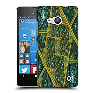 Snoogg Abstract Pattern Design Designer Protective Phone Back Case Cover For Nokia Lumia 550