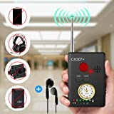 "Anti-spy Camera Bug RF Signal Detector [Enhanced Version], Dooreemee Wireless Hidden Camera GPS Tracker Higher Sensitivity Multi-functional GSM Device Finder(2"" X 0.6"" X 2.9"", 1.6oz, Handheld)."