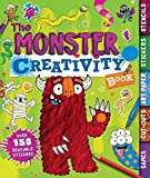 img - for The Monster Creativity Book: Games, Cut-Outs, Art Paper, Stickers, and Stencils (Creativity Books) book / textbook / text book