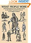 What People Wore: 1, 800 Illustration...
