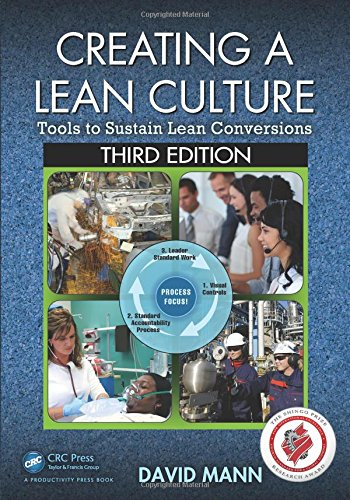 Creating a Lean Culture: Tools to Sustain Lean Conversions, Third Edition PDF