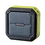 Mpow AquaPro ポータブルBluetoothスピーカー ワイヤレスステレオスピーカー 内蔵マイク搭載 SOS機能搭載 防水仕様(グリーン)