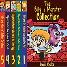 The Billy and Monster Collection: Funny Books for Kids (       UNABRIDGED) by David Chuka Narrated by J. B. Burgess
