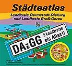 St�dteatlas Landkreis Darmstadt-Diebu...
