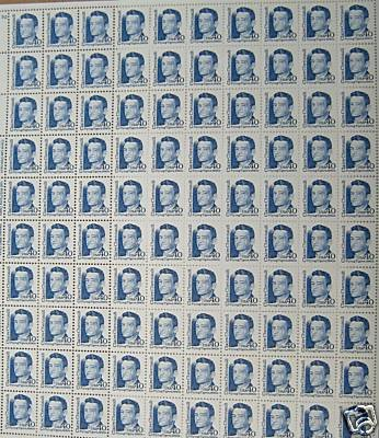 Flying Tiger 100 x 40 cent us U.S. Postage Stamps NEW