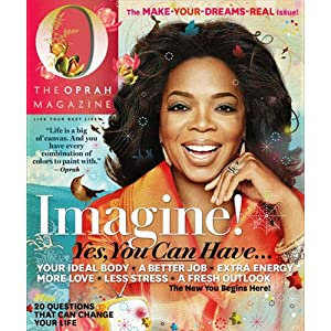 1 Year O Magazine Subscription