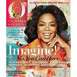1 Year O Magazine Subscription