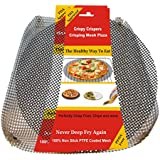 "Addie's Kitchen - A Reusable Non Stick 13"" Round Pizza Crisper Screen And 14"" X 14"" Mesh Crisping Basket"