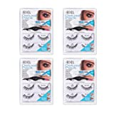 Ardell False Eyelashes Deluxe Pack 120 Black 4 Pack (Tamaño: Deluxe Pack 120 Black)