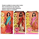 Barbie®, Barbie in India in New Look, P8228, New Brocade & Silk Sari, Collectors Doll for Ages 5 Years & Up