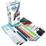 3D Pen with Free Filament Refills - 3Doodler Create+(2019 Version) 3D Doodler Art Drawing Printing Pen Kit with 15 Colors Plastic Free Stencil Activity Book for Adults Fun Arts Craft DIY Model Repair (Color: Essentials Set - Marine Blue, Tamaño: 2018 Model)