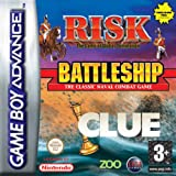 Cluedo/Battleships/Risk Compilation (GBA)