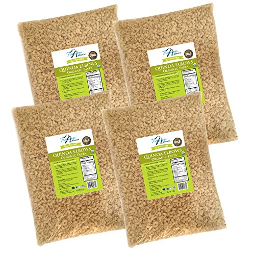 Tresomega Nutrition Organic Quinoa Elbows, 5 Pound (Baby Corn Plant compare prices)