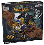 614KD8bnfKL. SL160  Mega Bloks World of Warcraft Swift Gryphon and Graven (Alliance Wargen Death Knight)