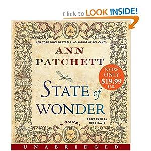 State of Wonder  - Ann Pachet