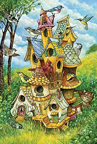 Toland Home Garden Birdhouse Mansion 12 5 X 18 Inch