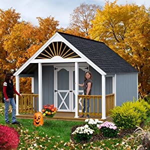 Best Barns Garden Shed 12 39 X 16 Shed Kit Plus 4 39 Porch