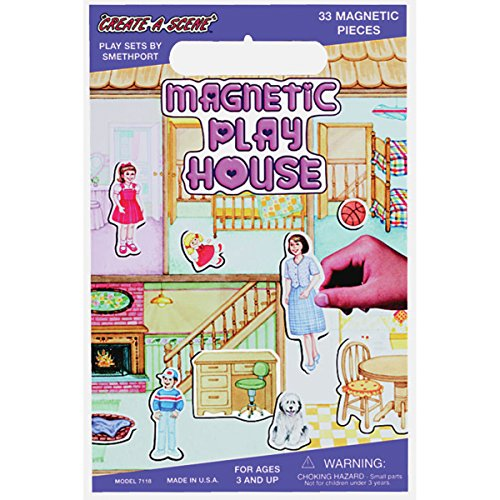 Magnetic Create-A-Scene Kit-Playhouse