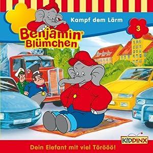Kampf dem Lärm (Benjamin Blümchen 3) Hörspiel