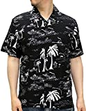 (ルーシャット) ROUSHATTE アロハシャツ 半袖 シャツ レーヨン ハイビスカス 12color M 柄4