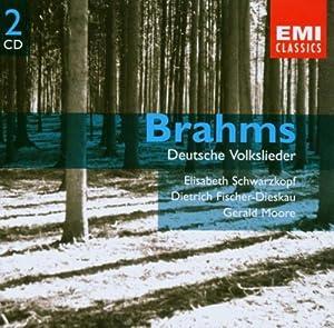 Brahms - Deutsche Volkslieder (2CD)