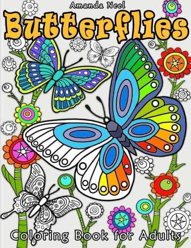 ^-^Read Online: Butterflies Coloring Book for Adults by ...